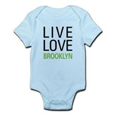 Live Love Brooklyn Infant Bodysuit