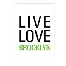Live Love Brooklyn Postcards (Package of 8)