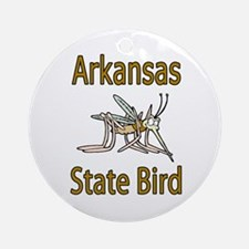 Arkansas State Bird Ornament (Round)