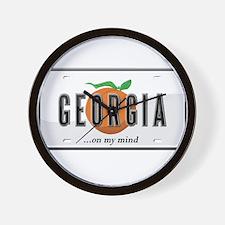 Georgia Wall Clock