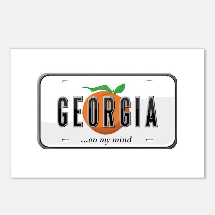 Georgia Postcards (Package of 8)