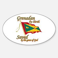 Grenadian by birth Decal