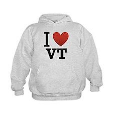 I Love Vermont Hoodie