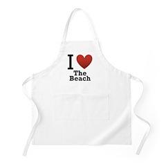 I Love the Beach Apron