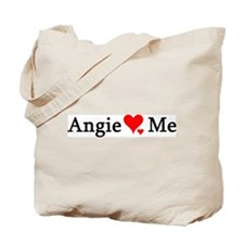 Angie Loves Me Tote Bag
