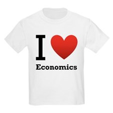 I Love Economics T-Shirt