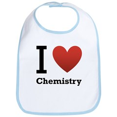 I Love Chemistry Bib