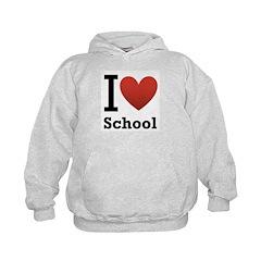 I <3 School Hoodie