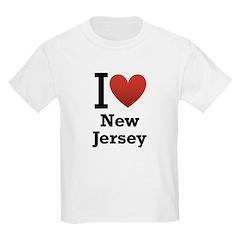 I <3 New Jersey T-Shirt