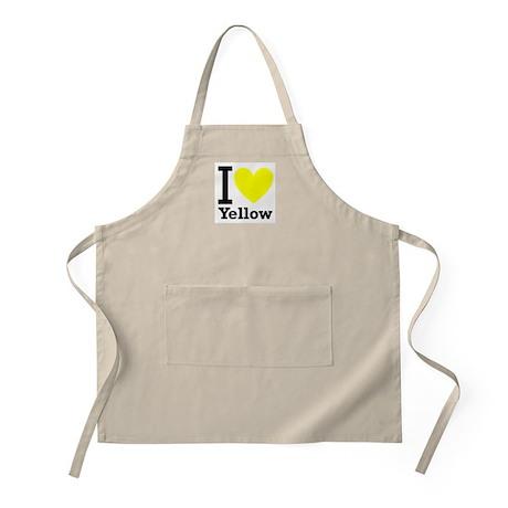 I <3 Yellow Apron