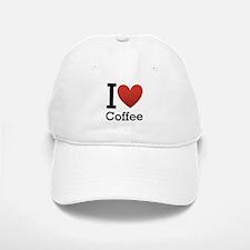 I <3 Coffee Baseball Baseball Cap