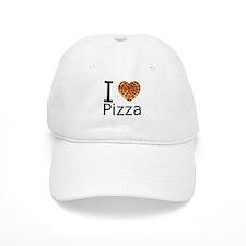 I Heart Pizza Baseball Cap