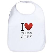I <3 Ocean City Bib
