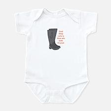 Fishing Wade - Infant Bodysuit (Orange)