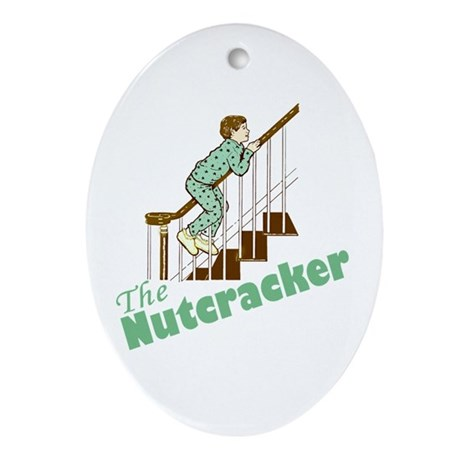 The Real Nutcracker Ornament (Oval)