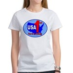 USA First In Everything Women's T-Shirt