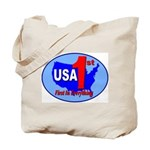 USA First In Everything Tote Bag