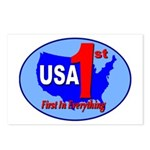 USA First In Everything Postcards (Package of 8)