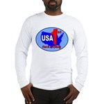 USA First In Everything Long Sleeve T-Shirt