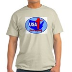 USA First In Everything Light T-Shirt