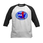 USA First In Everything Kids Baseball Jersey