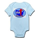USA First In Everything Infant Bodysuit