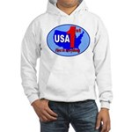 USA First In Everything Hooded Sweatshirt