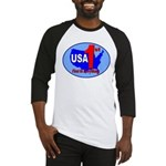 USA First In Everything Baseball Jersey