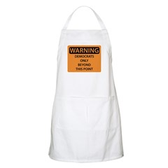 Democrats Only Apron