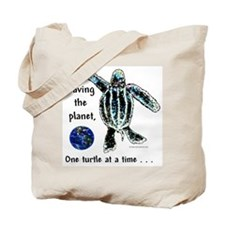 ONE TURTLE Tote Bag