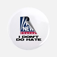 """No Hate For Me 3.5"""" Button"""