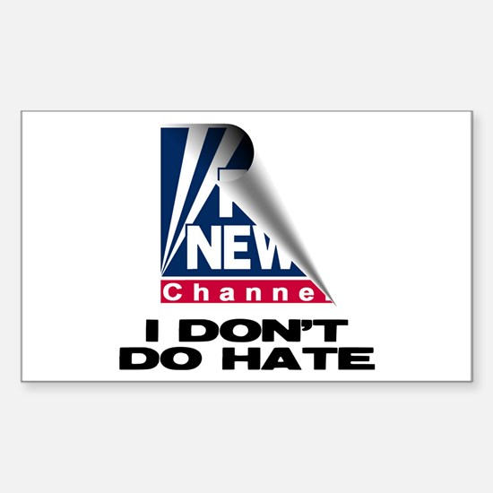 No Hate For Me Sticker (Rectangle)