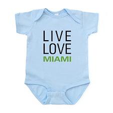 Live Love Miami Infant Bodysuit