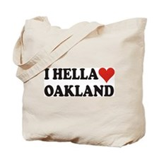 I Hella (Heart) Oakland Tote Bag