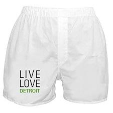 Live Love Detroit Boxer Shorts