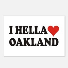 I Hella (Heart) Oakland Postcards (Package of 8)