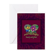 Beautiful Daughter Greeting Card