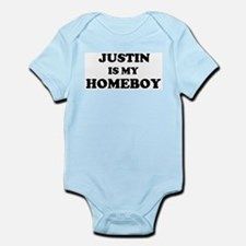 Justin Is My Homeboy Infant Creeper