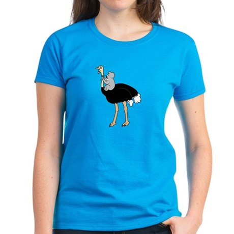 Koala vs Ostrich Women's Shirt (dark colors)