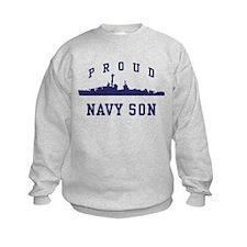 Proud Navy Son Sweatshirt