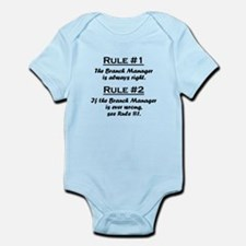 Branch Manager Infant Bodysuit