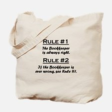 Bookkeeper Tote Bag