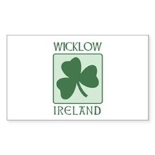 Wicklow, Ireland Rectangle Decal