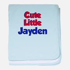 Today Is Jayden Day baby blanket