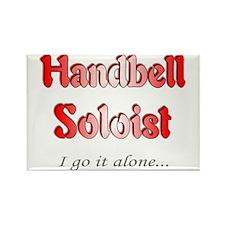 Handbell Soloist Rectangle Magnet