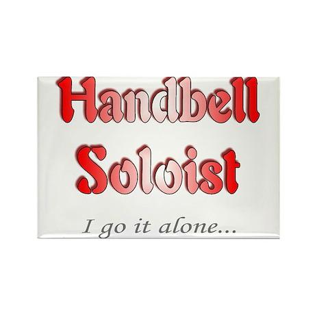 Handbell Soloist Rectangle Magnet (10 pack)