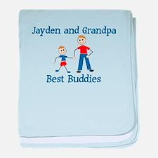 Jayden & Grandpa - Best Buddi baby blanket