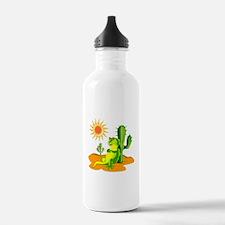 Cactus in the Desert I Water Bottle