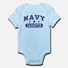 Navy Daughter Infant Bodysuit