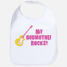 Rock On! Godmother Bib